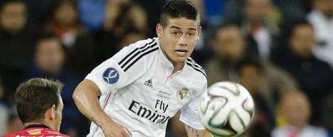 Real Madrid midfielder James: I'll continue to improve