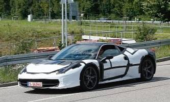 Ferrari Spied Testing Turbocharged 458, Here Are the Details